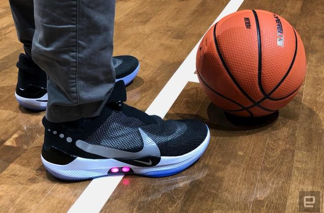 Nike's self-lacing Adapt BB shoes aren't playing well with Android phones