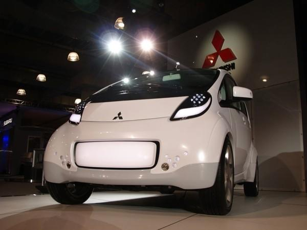 Mitsubishi's i-MiEV electric vehicle officially headed to the US
