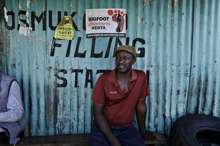 Mechanic Sameri is in 'survival mode' (AFP Photo/Tony Karumba)