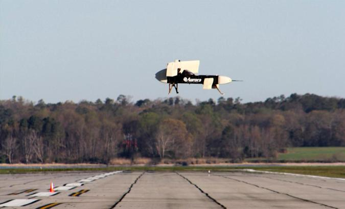DARPA's wild 24-fan aircraft flies for the first time