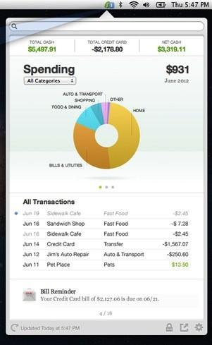 Intuit releases Mint QuickView in the Mac App Store