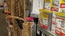 Home Depot bans some rope sales after nooses were found tied on store spools