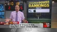 Cramer's 5 favorite tech stocks right now, including Appl...