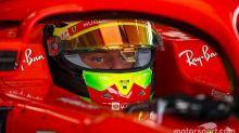 Schumacher, Ilott and Shwartzman enjoy Ferrari F1 tests