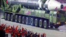 Kim Jong-un unveils new ICBM at military parade, says North Korea will continue to strengthen the war deterrent