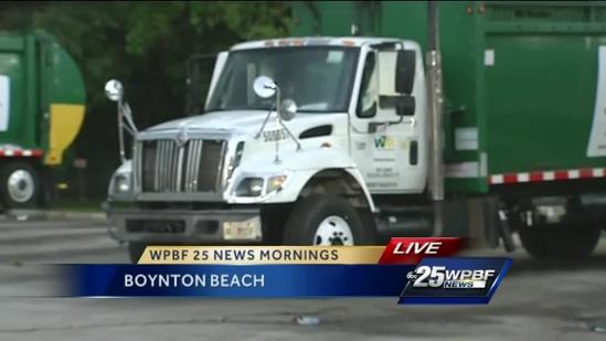 Waste Watch encourages truck drivers to report crimes