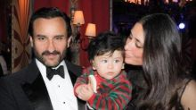 Saif Ali Khan and Kareena Kapoor Khan along with Taimur Ali Khan make for a PERFECT family