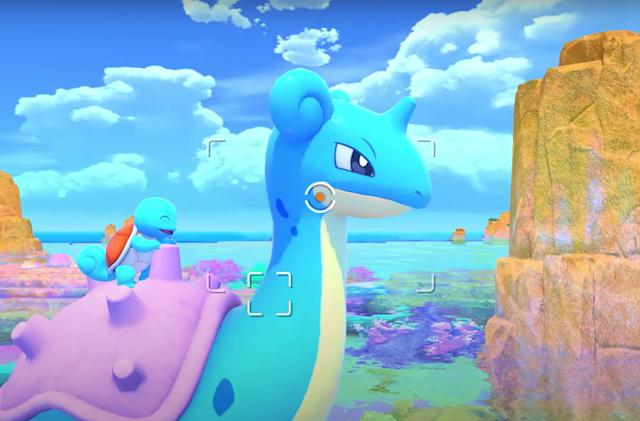 A new 'Pokémon Snap' game is coming to Nintendo Switch