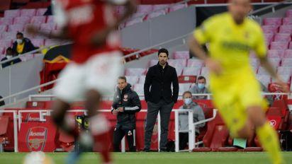 Mikel Arteta 'devastated' as Arsenal fall in Europa League semi-final