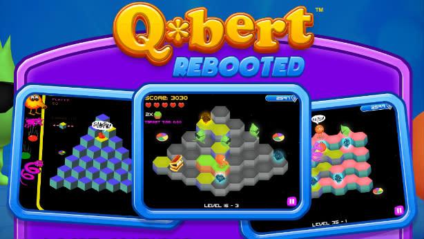 Q-bert Rebooted puts Q-nicorns on PC, mobile [Update]