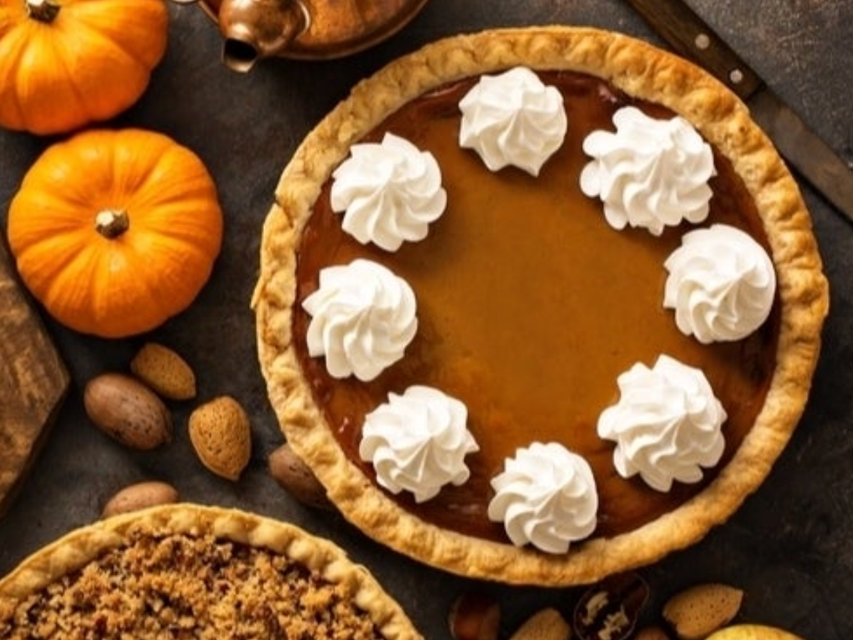 For your coronavirus stress baking, head to a pumpkin patch near Lakeland and make a perfect from-scratch pumpkin pie.