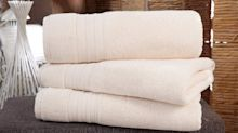 """Shoppers say these towels """"are the same quality"""" as the ones you find at fancy hotels"""