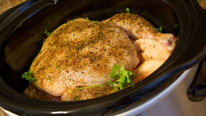 Why you should never cook frozen chicken in a Crock-Pot