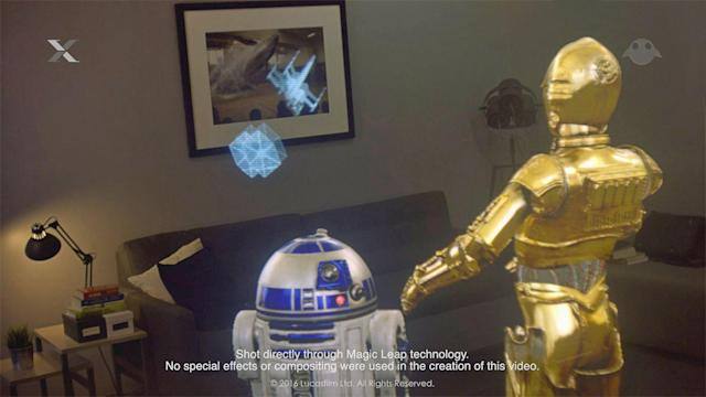 Magic Leap teams with Lucasfilm for 'Star Wars' AR experiences