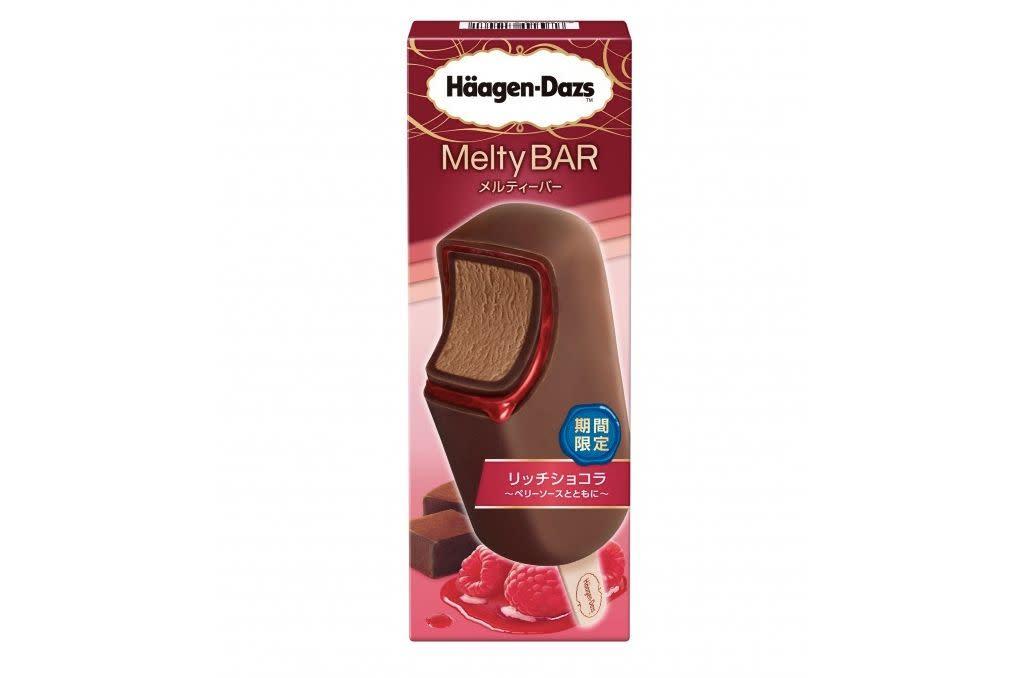 Haagen-Dazs Melty BAR「莓醬濃香巧克力」