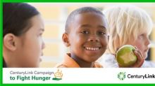 CenturyLink Campaign to Fight Hunger to benefit more than 140 food banks in the U.S. and abroad