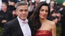 You Can Now See Amal Clooney's Oscar De La Renta Wedding Dress In Person