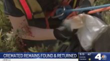 Cremated human remains found in California after theft