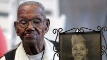 Oldest living American World War II veteran celebrates his birthday in style