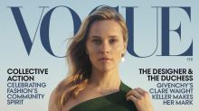Shop Reese Witherspoon's low-key chic Vogue cover earrings — for much less