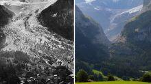 Antes y después: las impactantes fotos que muestran cómo ha cambiado el mundo