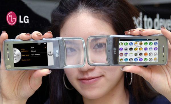 LG's GD900 with (multi-touch?) transparent keypad gets S-Class UI