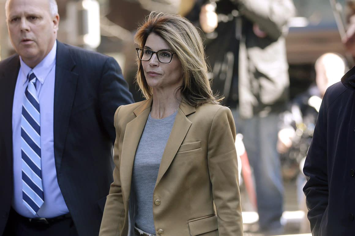 Actress Loughlin sentenced to 2 months in prison in college admissions scandal