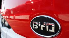 Chinese EV maker BYD says 2018 preliminary profit down 31 percent, blames competition