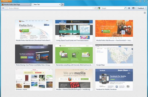 Firefox 13 final swings by with new home and tab pages, flaunts its SPDYness