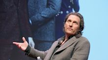 Matthew McConaughey reveals secret ambition to join the world of wrestling