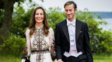 Newlyweds Pippa Middleton and James Matthews Just Attended a Friend's Wedding