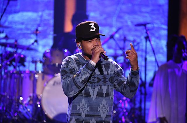 Chance the Rapper's streaming-only album hits Billboard chart