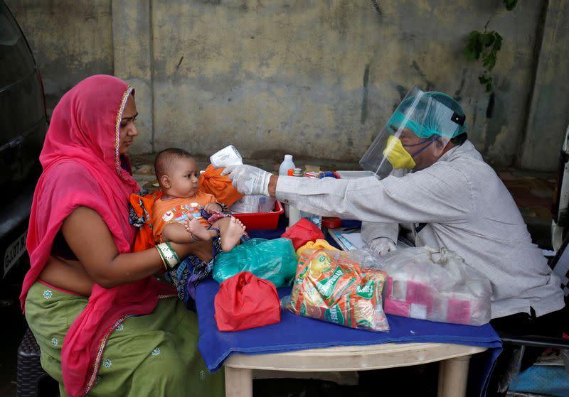 U.N. warns of dangerous drop in vaccinations during COVID pandemic