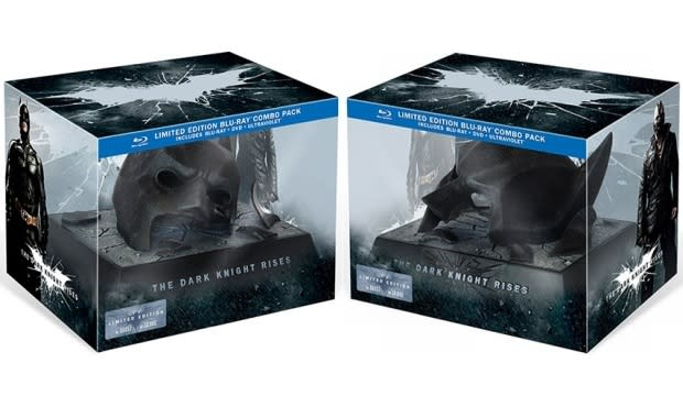 The Dark Knight Rises Blu-ray officially set for December 4th, limited edition Bat Cowl revealed (Update)
