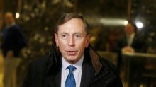 Former CIA director Petraeus joins KKR backed security firm