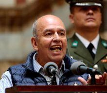 Bolivian minister seeks Israel help in fighting alleged leftist 'terrorism'