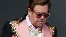 'I gave it all I had': Teary Elton John cuts concert short due to shock illness