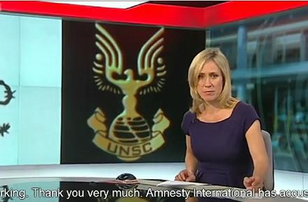 Master Chief called in to resolve Syria, reports BBC
