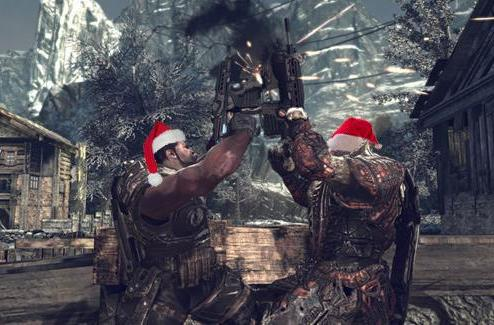 The '12 Days of Christmas' get a Gears of War 2 makeover