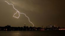 London's Stansted has flights disrupted by lightning strike