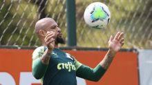 Felipe Melo espera retorno 'o mais breve possível' ao Palmeiras