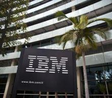 IBM Stock Falls 4%