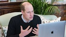 Prince William says young people are 'shining lights' in environmental battle