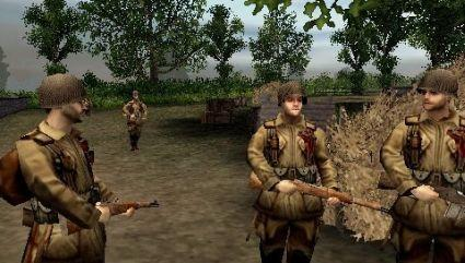 Brothers in Arms' uncompromising move to PSP