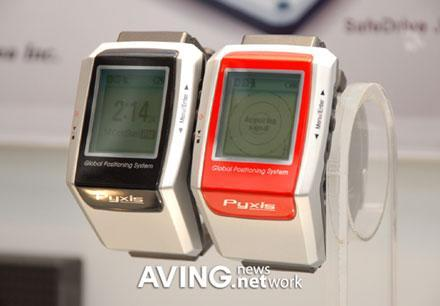 Pyxis shows off GPS-equipped sport watch