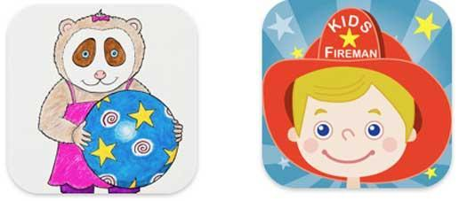 Two iOS apps meant to teach toddlers valuable lessons