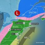 Next storm to bring ice followed by warmup, urban flood risk in northeastern US
