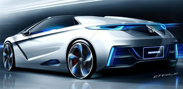 Honda's Small Sports EV concept proves electric can be svelte, comes to Tokyo Motor Show next month