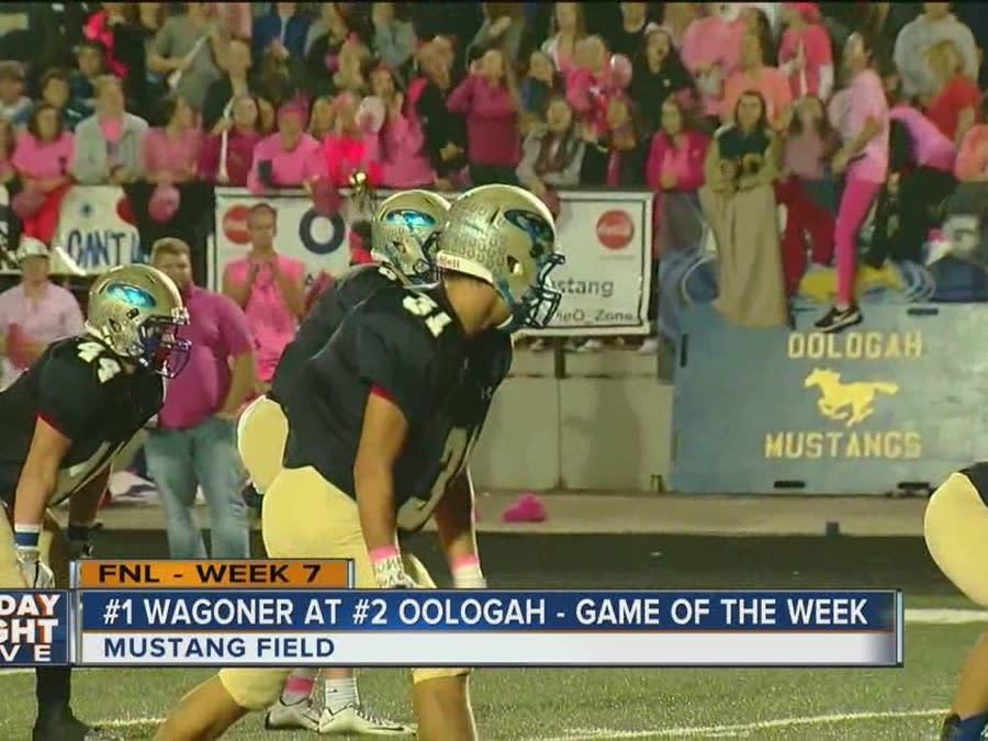 Wagoner Bulldogs Vs Oologah Mustangs Oklahoma High School Football