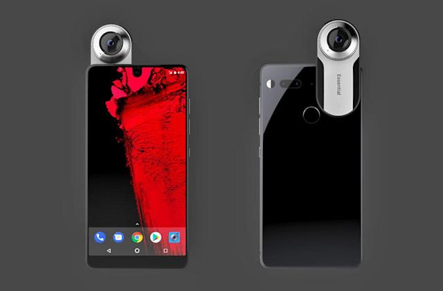 Andy Rubin's Essential Phone is up for pre-order through Sprint